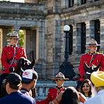 RCMP horses and riders